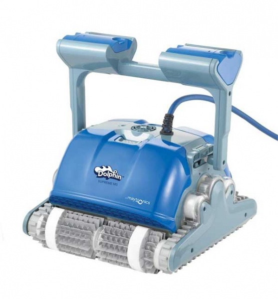 dolphin m500 automatic swimming pool cleaner by maytronics pool market